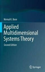Applied Multidimensional Systems Theory By Nirmal K. Bose 2016 Hardcover