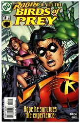 Birds Of Prey 1999 19 Nm 9.4 Hunt For Oracle Prelude Black Canary