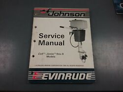 Service Manual For 1987 Johnson Or Evinrude Outboard Motor