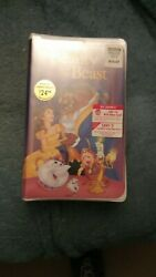 Beauty And The Beast Vhs 1992 Disney Diamond Collection Brand New Unwrapped 1325