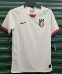 Nike 2019 Womens World Cup Usa Youth Soccer Home Jersey Aj4448-100 Size Xl