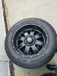 20x10 Procomp Trilogy 73 Series -18 Rims 5x150 Toyo Open Country 33x12.5r20 At
