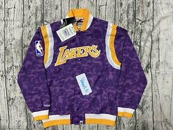 A Bathing Ape X Mitchell And Ness La Jacket Only In La Bape Store