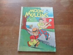 Four Color Comics 31 Moon Mullins Dell Golden Age Mid Grade Hard To Find