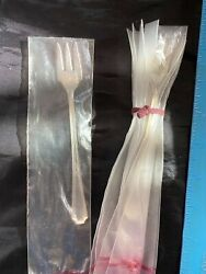 Fairfax By Gorham Sterling Flatware Set Of 5 Seafood Forks  New In Bags