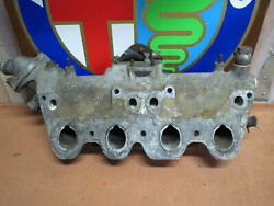 1969-81 Alfa Romeo Spica Fuel Injection Intake Manifold + Bell Crank Thermostat