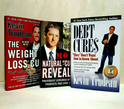 3 Kevin Trudeau Books Debt Cures, Natural Cures, Weight Lose