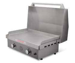 Le Griddle 30 2 Burner Gas Griddle With Stainless Steel Cart