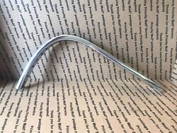 1959 1960 Cadillac Windshield Trim Right Side - Very Nice Chrome