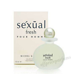 Sexual Fresh Pour Homme By Michel Germain 4.2 Oz / 125 Ml Edt Spray New In Box