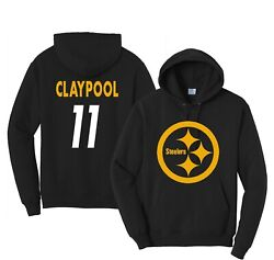 Chase Claypool Football Hoodie Ys-3xl,customize Any Name,pittsburgh, Jersey