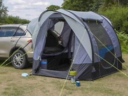 Tailgate Rear Tent Freestanding For Small And Suvs Air Inflatable Easy Use
