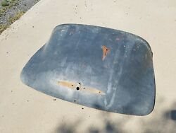 Oem 49-52 Chevy Styleline Fleetwood Trunk Lid With Handle And Wings