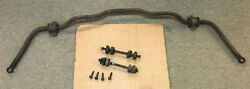 1961 And Other Ford Thunderbird 390 P/s Front Sway Bar Brackets End Links