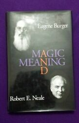 Signed/autographed - Magic And Meaning By Eugene Burger, Robert Neale