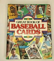 Great Book Of Baseball Cards 1989 Hardcover 452 Pages Color Pictures Index