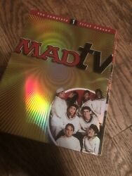 Madtv - The Complete First Season 1 Dvd 2004 3 Disc Set Mad Tv Rare Oop
