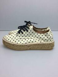 Gaimo Espadrilles 37 Crm Size 37 Cream Low Cut Sneakers 053 From Japan