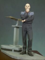 Starship Commander Tin Painted Toy Soldier Miniature Pre-sale   Art