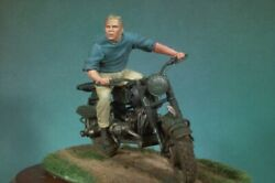 Freedom´s Ride Tin Painted Toy Soldier Miniature Pre-sale | Art