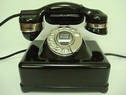 Antique Electric Monophone Telephone 2 Beautiful Works. Ae2