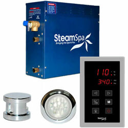 New Touch Pad Steam Generator Package 6kw Polished Chrome