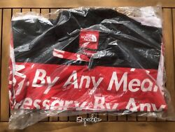 Supreme Fw15 The By Any Means Necessary Mountain Jacket Red L Tnf