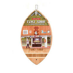 Tiki Toss - Football Edition - Hook And Ring Game New