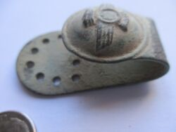 Money Clip Spain 17th 18th Century Spanish Colonial Time Era 2 X 1 Inches 745