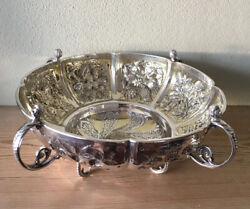 Antique Solid Silver Bowl By Mappin And Webb. London 1910