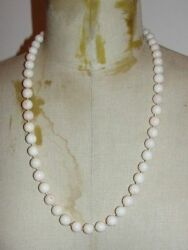 Gorgeous Angel Skin Coral Bead Necklace