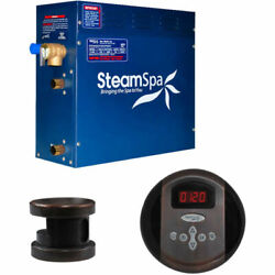 New Steam Generator Package 4.5kw Oil Rubbed Bronze
