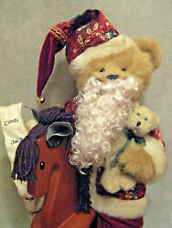 Boyds Bears Plush Christmas Kristopher Nicklebeary With Teddy And Clyde 4014609