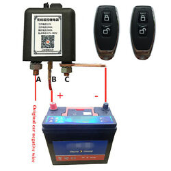 Wireless Remote 12v Battery Disconnect Relay Master Kill Switch For Car Hot Rod