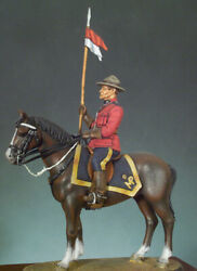 Canadian Mounted Police 1970 Tin Painted Toy Miniature Pre-sale | Art