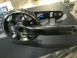 Shimano Xtr Crankset Stages Single Side Power Meter M9020 175mm Double Mountain