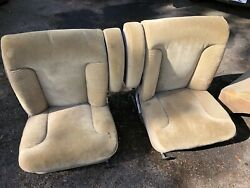 Mercedes W109 300sel 108 Front And Rear Seat Set Euro Velour 6.3 4.5 3.5 Early