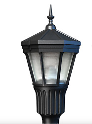 Vintage Arlington Street Light Post Top Led Fluted W/ Pole Delivery Available
