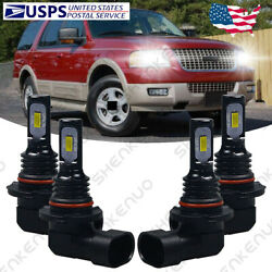For Ford Expedition Explorer 2003-2006 - Headlights Bulbs Led High Low Light Hkb