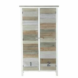 Handicraft Antique Finish Wood Cupboard For Home And Office Furniture
