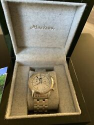 Augusta National Golf Masters 2020 Stainless Steel Watch New