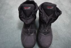 Men#x27;s Totes Thermolite Insulated Winter Boots Black Size: 9 Med. $9.95