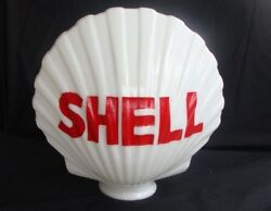 Reproduction Shell Gas Pump Globe Gas And Oil