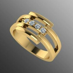 22k Sold Yellow Gold Ladies Jewelry Modern Design With Stones Insert Cgr45