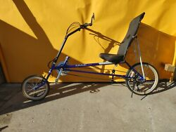 Rans Wave 18 Speed Bicycle One Person Owner Excellent Condition