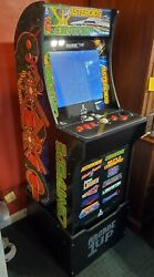 Arcade1up Atari 12 In 1 Deluxe Edition Asteroids Centipede With Riser