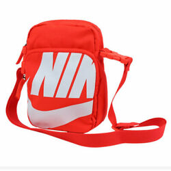 Nike Heritage 2.0 II Festival Shoulder Bag Travel Small Red White BA6344 671 $30.00
