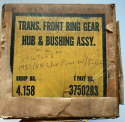 Nos Gm Chevy 3750283 Turbo Glide Trans. Front Ring Gear Hub And Bushing Assy.