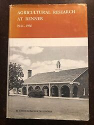 Agricultual Research At Renner Texas By Cyrus Longwoth Lundell Signed E1