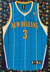 Authentic Rare Vintage Adidas Nba New Orleans Hornets Chris Paul Jersey